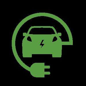 Electric Car Symbol B