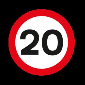 Speed 20 Roundel